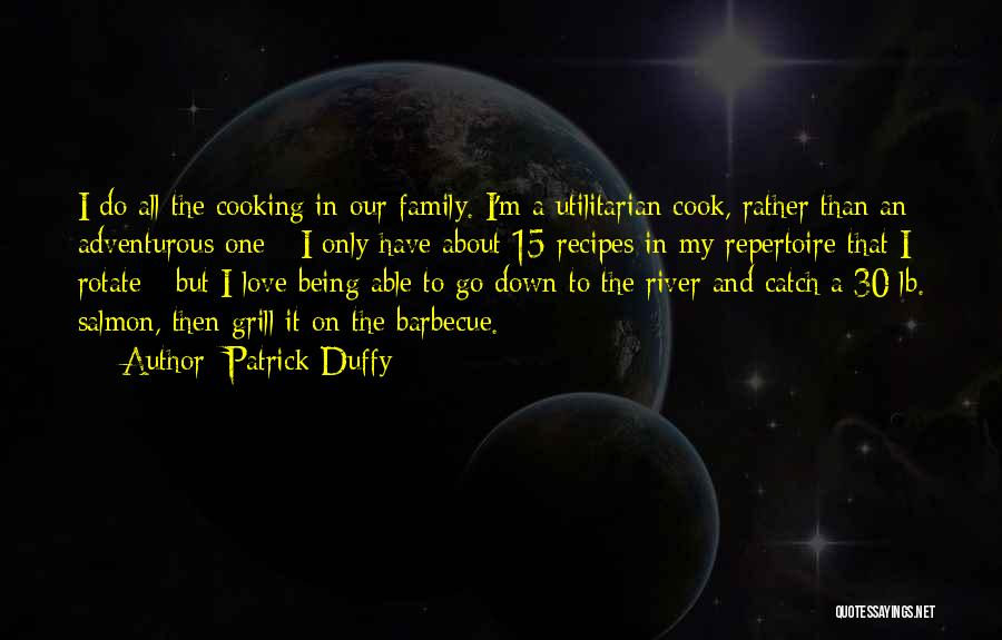 Being Adventurous Quotes By Patrick Duffy