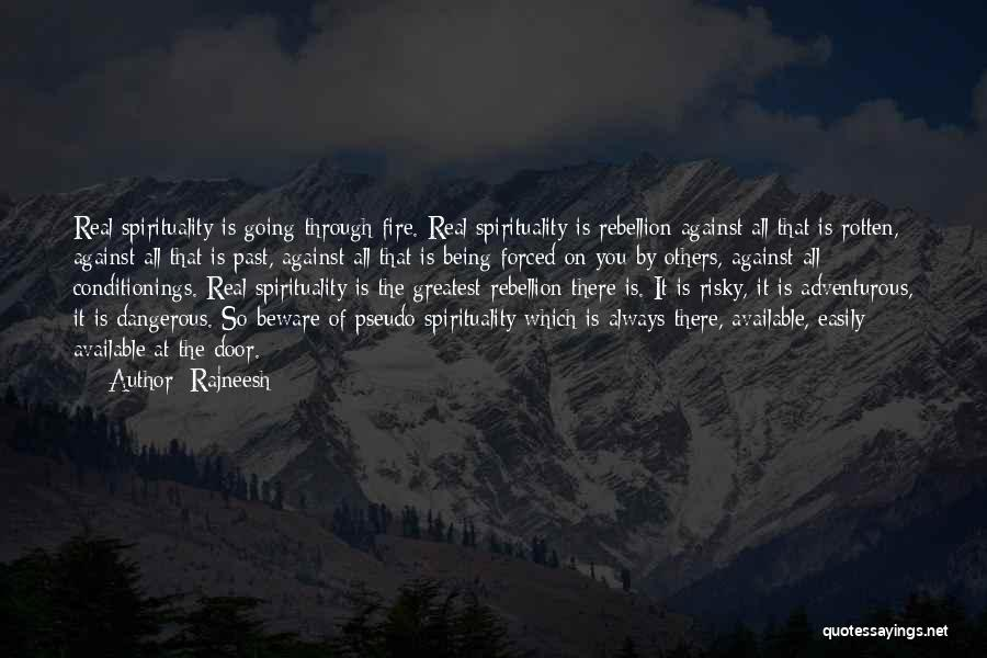 Being Adventurous Quotes By Rajneesh