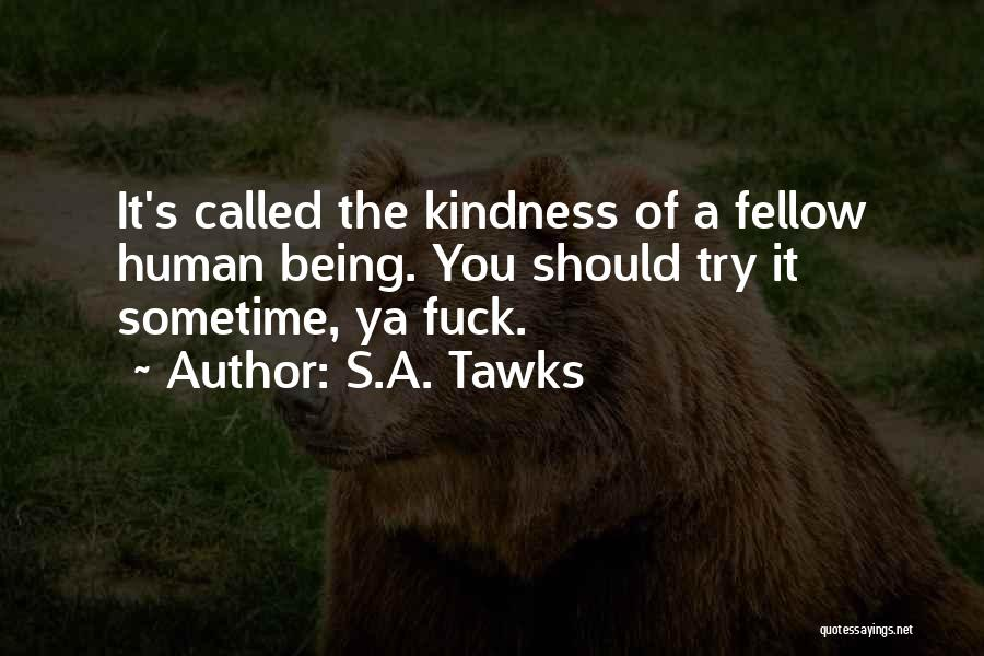 Being Adventurous Quotes By S.A. Tawks