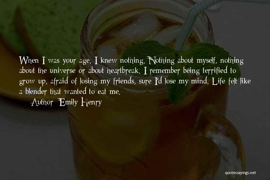 Being Afraid To Lose Him Quotes By Emily Henry