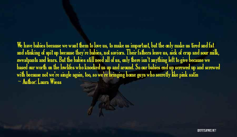 Being Alone Without Love Quotes By Laura Wiess