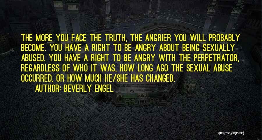 Being Angry With Yourself Quotes By Beverly Engel