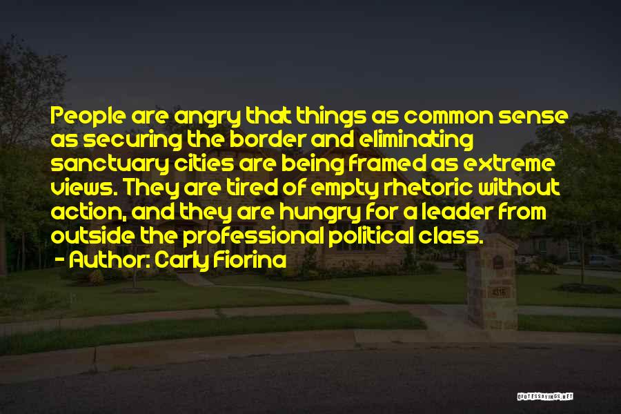 Being Angry With Yourself Quotes By Carly Fiorina