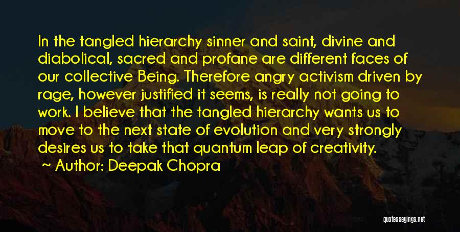 Being Angry With Yourself Quotes By Deepak Chopra