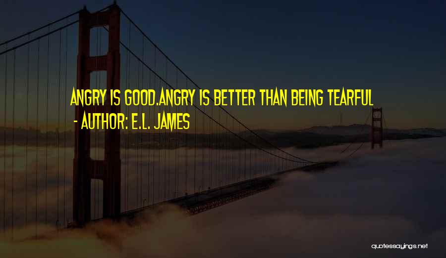 Being Angry With Yourself Quotes By E.L. James