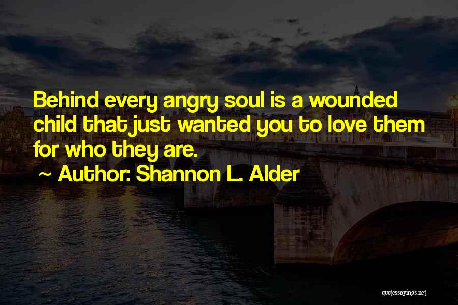 Being Angry With Yourself Quotes By Shannon L. Alder