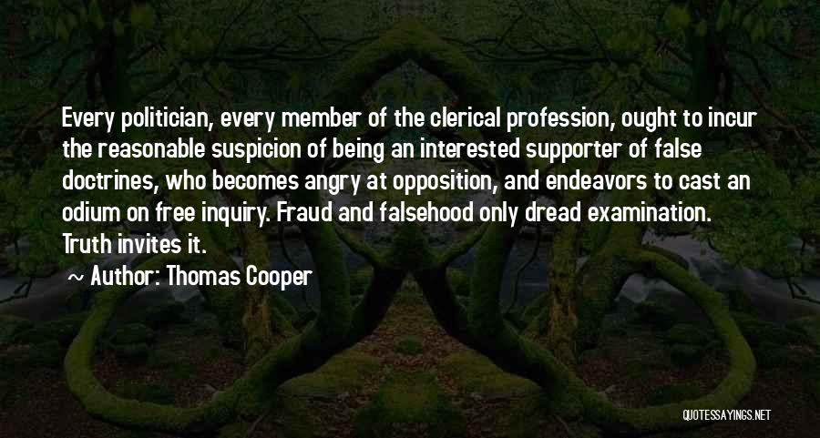 Being Angry With Yourself Quotes By Thomas Cooper
