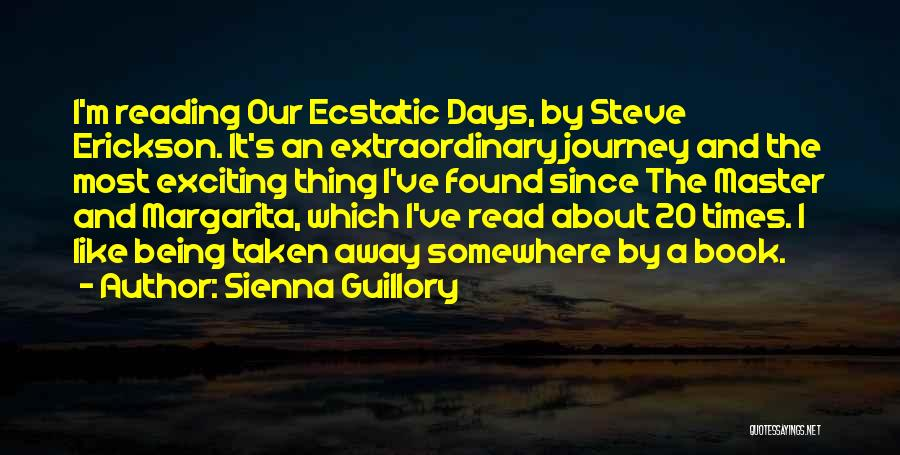 Being Away From Someone You Like Quotes By Sienna Guillory