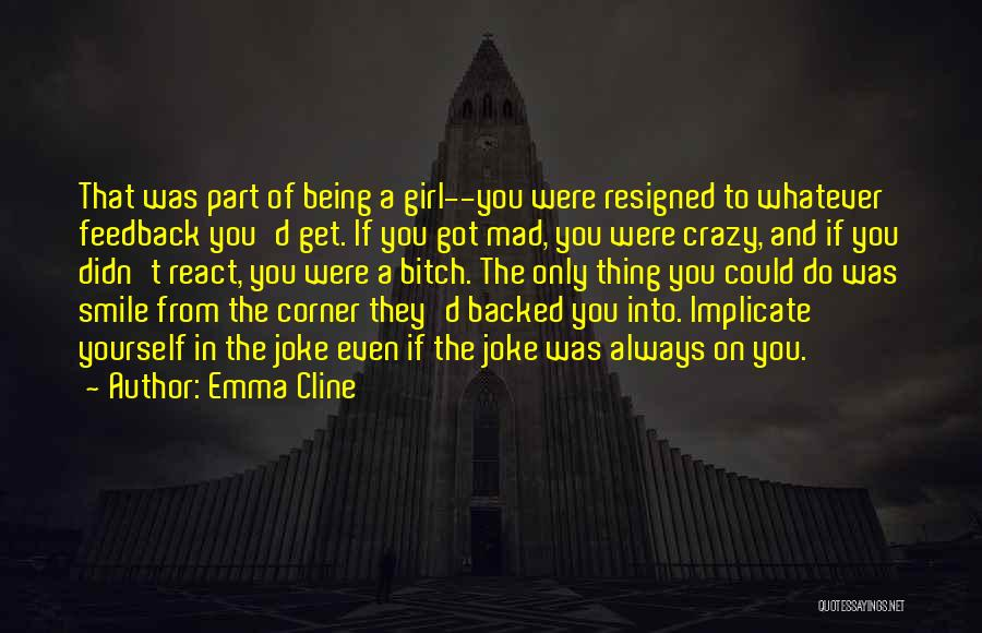 Being Backed Into A Corner Quotes By Emma Cline