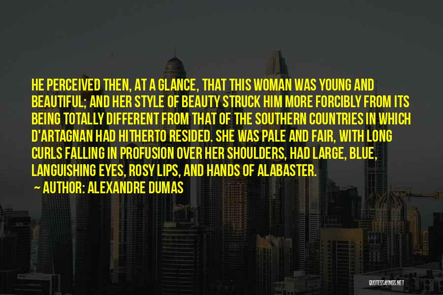 Being Beautiful And Different Quotes By Alexandre Dumas