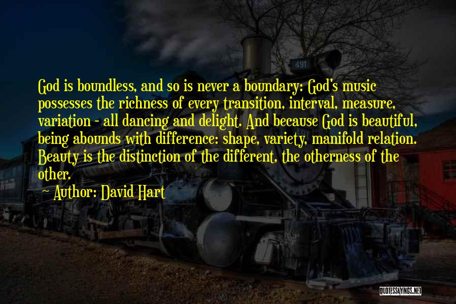 Being Beautiful And Different Quotes By David Hart
