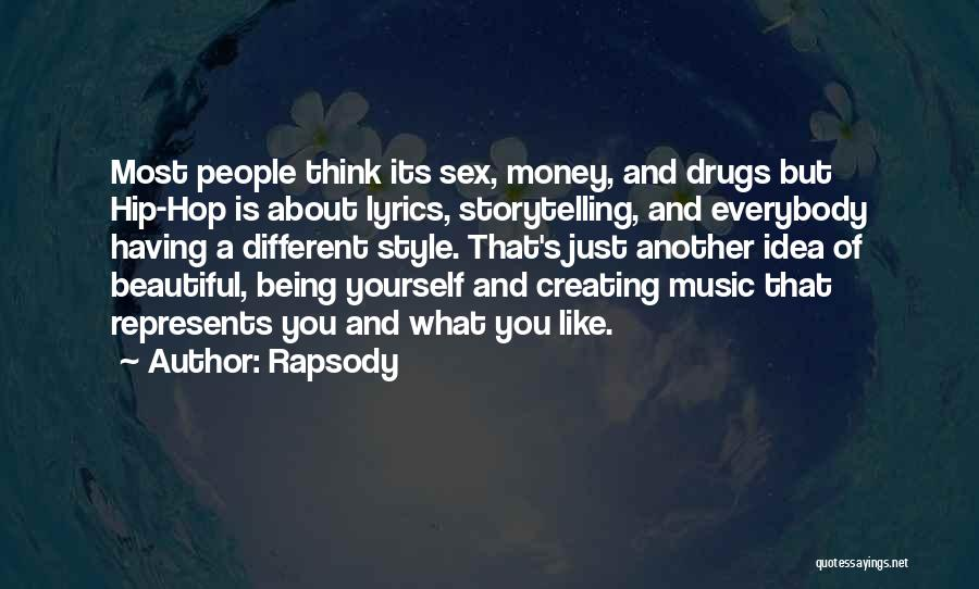 Being Beautiful And Different Quotes By Rapsody