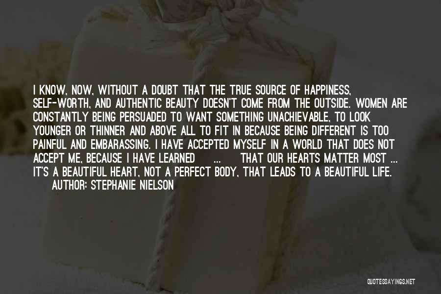 Being Beautiful And Different Quotes By Stephanie Nielson