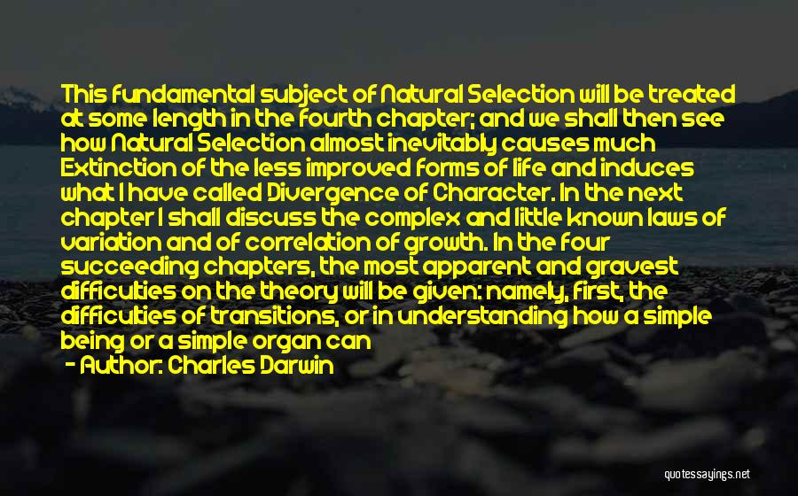 Being Called Quotes By Charles Darwin