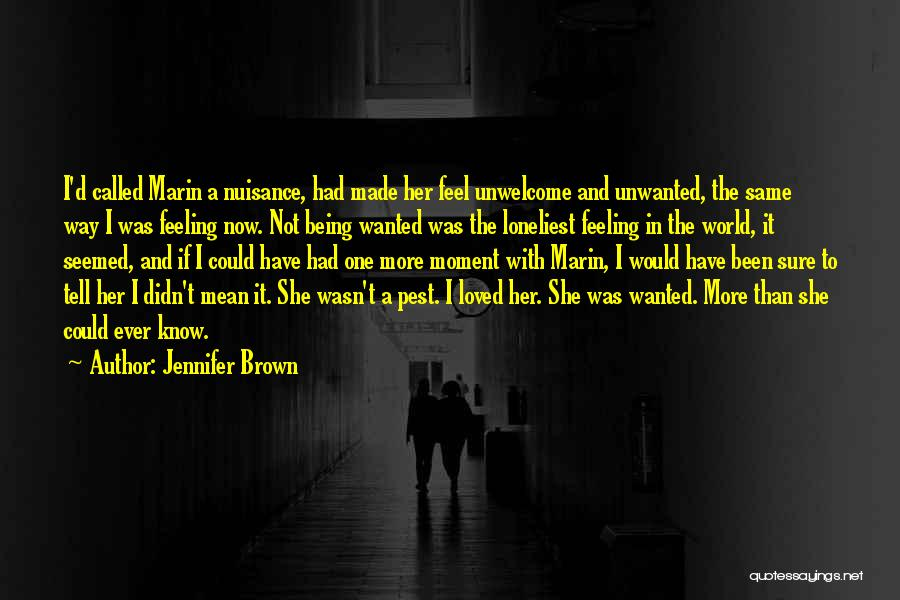 Being Called Quotes By Jennifer Brown