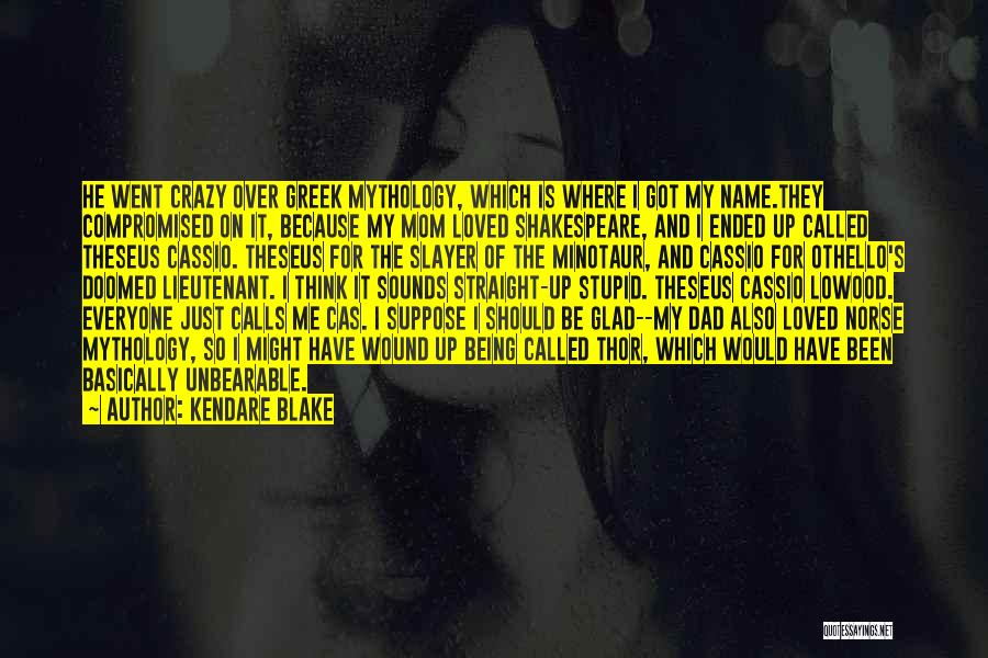 Being Called Quotes By Kendare Blake