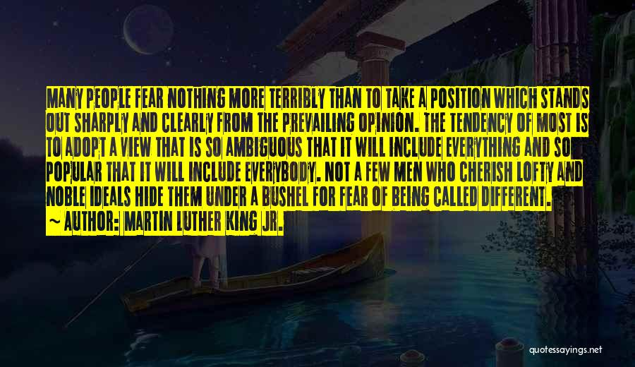 Being Called Quotes By Martin Luther King Jr.