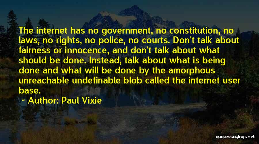 Being Called Quotes By Paul Vixie
