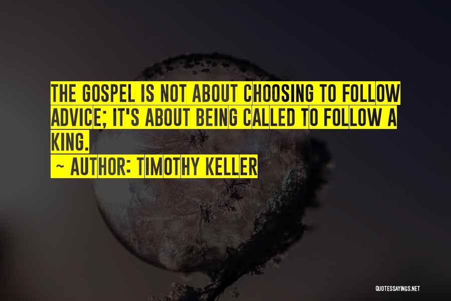 Being Called Quotes By Timothy Keller