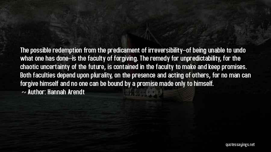Being Contained Quotes By Hannah Arendt