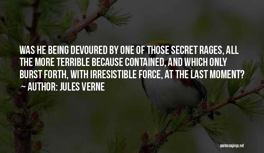 Being Contained Quotes By Jules Verne