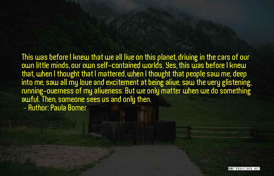 Being Contained Quotes By Paula Bomer