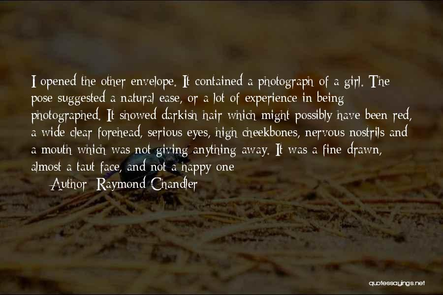 Being Contained Quotes By Raymond Chandler