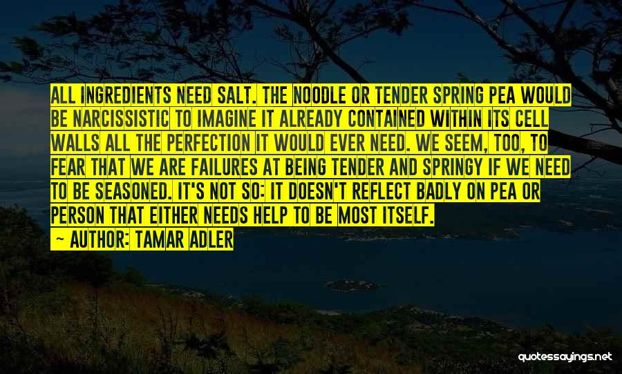 Being Contained Quotes By Tamar Adler