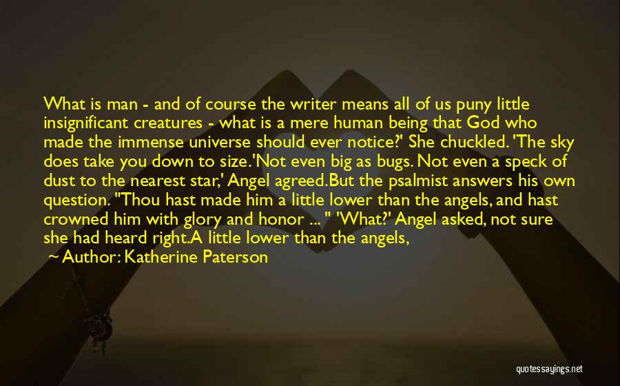 Being Crowned Quotes By Katherine Paterson