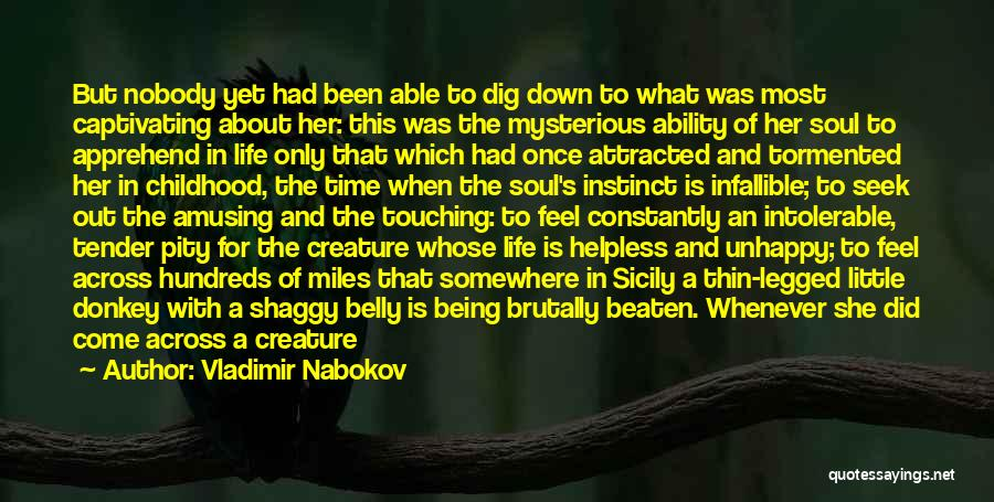Being Cut Out Of Someone's Life Quotes By Vladimir Nabokov