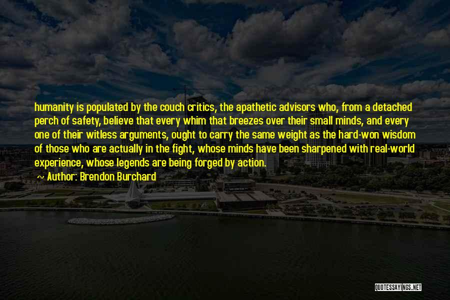 Being Detached Quotes By Brendon Burchard