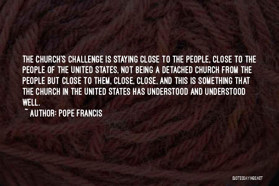 Being Detached Quotes By Pope Francis