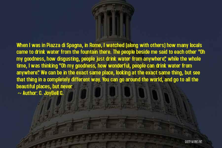 Being Different On The Inside Quotes By C. JoyBell C.