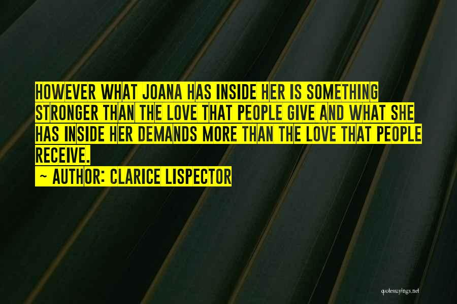Being Different On The Inside Quotes By Clarice Lispector