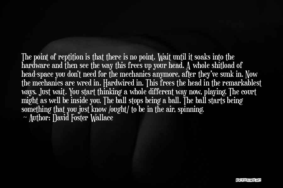 Being Different On The Inside Quotes By David Foster Wallace