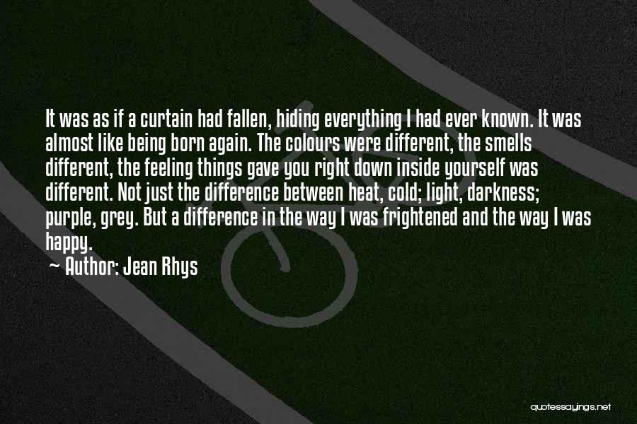 Being Different On The Inside Quotes By Jean Rhys