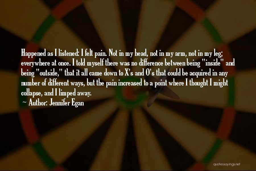 Being Different On The Inside Quotes By Jennifer Egan