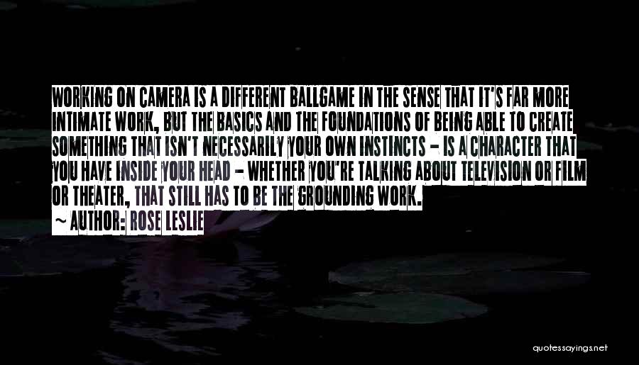 Being Different On The Inside Quotes By Rose Leslie