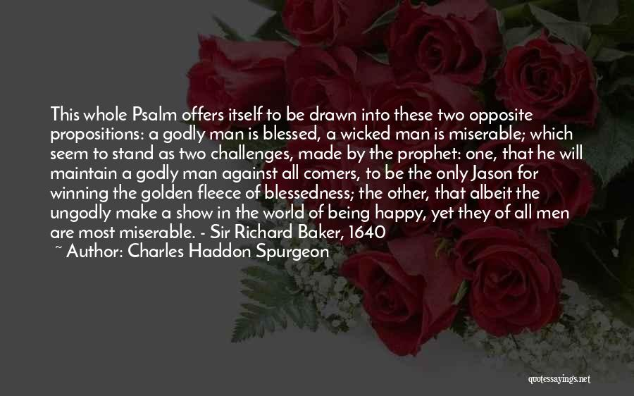 Being Drawn To Something Quotes By Charles Haddon Spurgeon