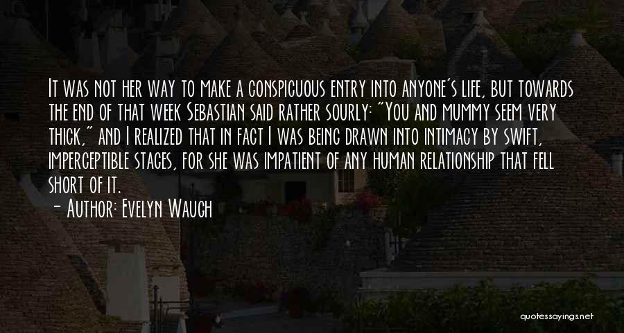 Being Drawn To Something Quotes By Evelyn Waugh