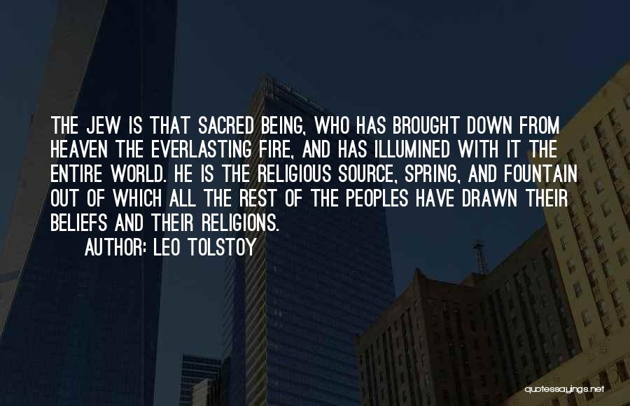 Being Drawn To Something Quotes By Leo Tolstoy