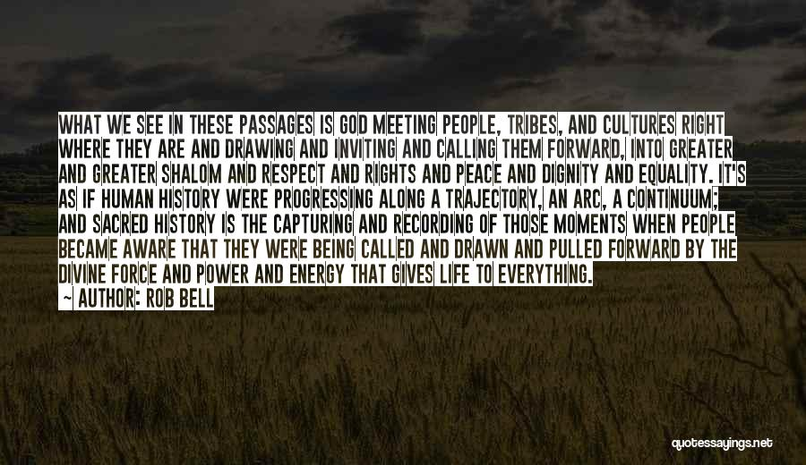Being Drawn To Something Quotes By Rob Bell