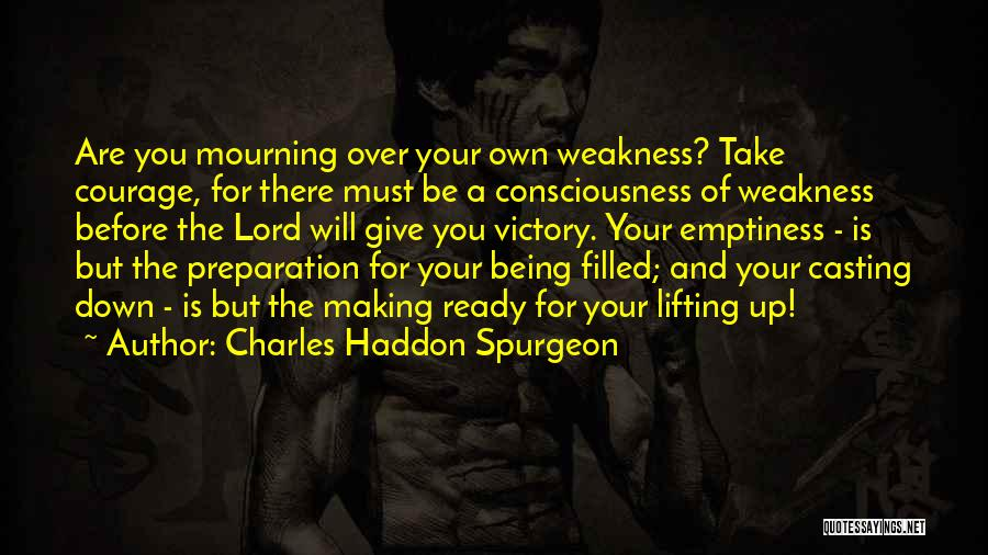 Being Filled Up Quotes By Charles Haddon Spurgeon