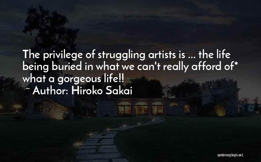 Being Gorgeous Quotes By Hiroko Sakai