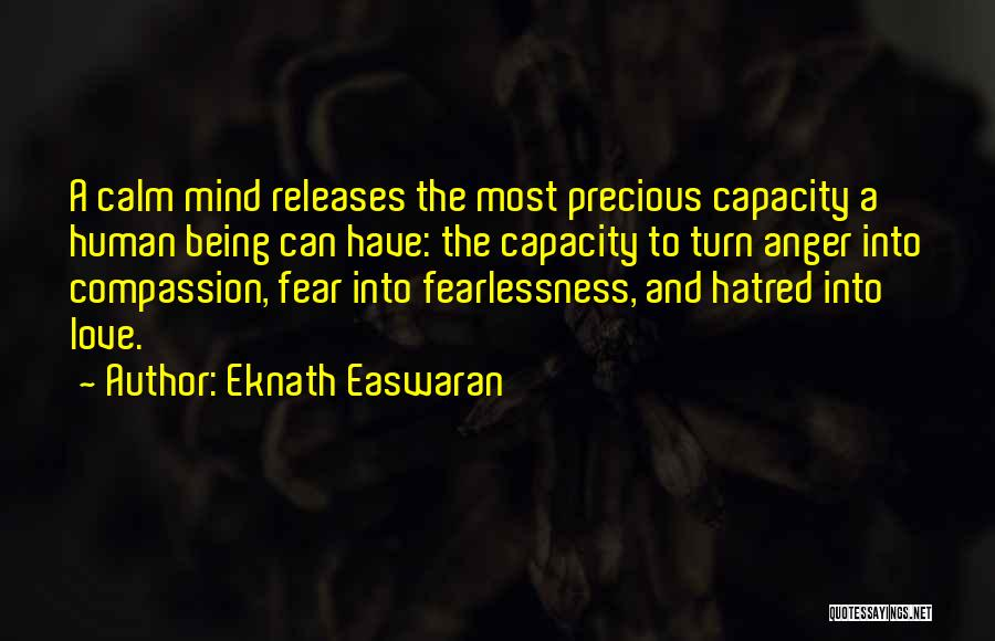 Being Grateful With What You Have Quotes By Eknath Easwaran