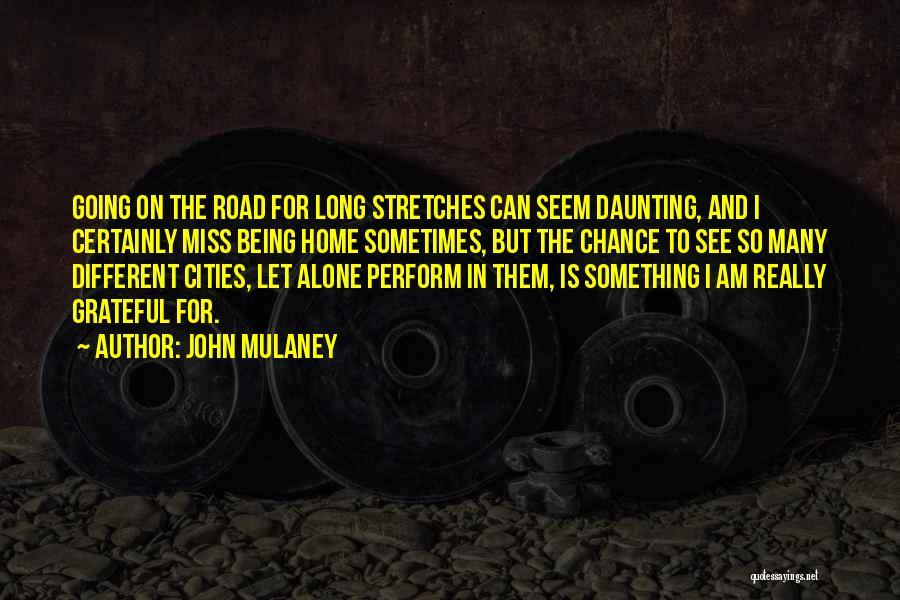 Being Grateful With What You Have Quotes By John Mulaney