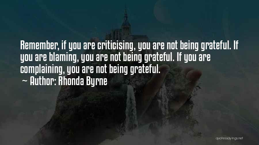 Being Grateful With What You Have Quotes By Rhonda Byrne