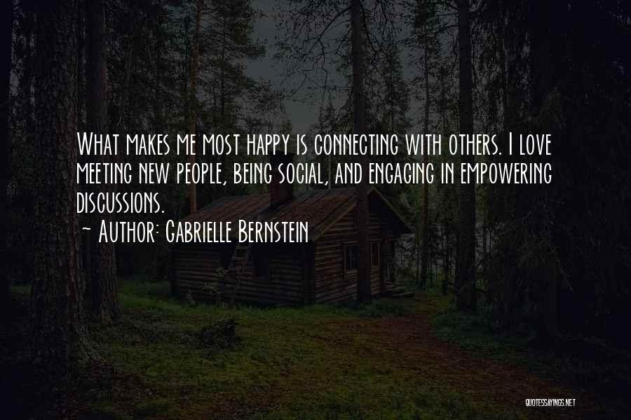 Being Happy And In Love Quotes By Gabrielle Bernstein