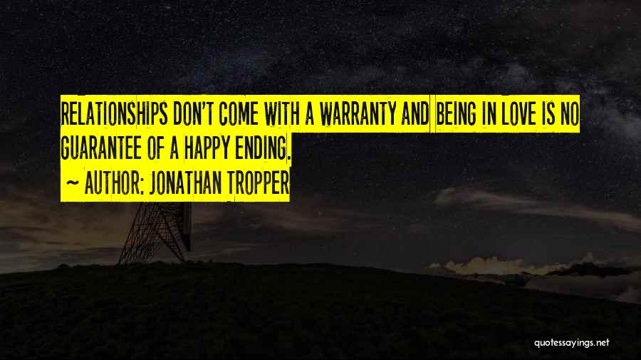 Being Happy And In Love Quotes By Jonathan Tropper