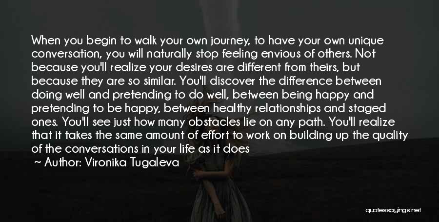 Being Happy Because Of Love Quotes By Vironika Tugaleva
